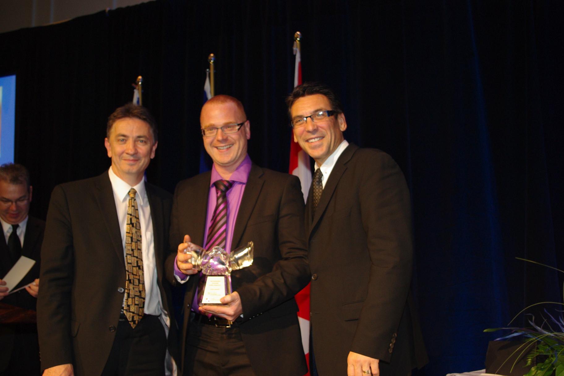 Quebecomm, prix d'Excellence en affaires Québec-France 2011